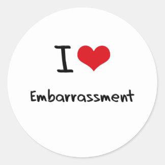I love Embarrassment Sticker
