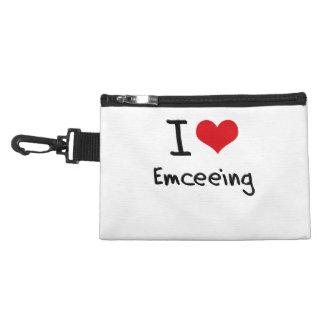 I love Emceeing Accessories Bags