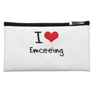 I love Emceeing Cosmetic Bag
