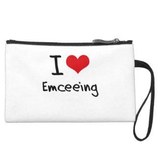 I love Emceeing Wristlet Purses