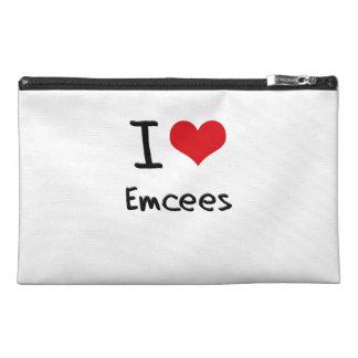 I love Emcees Travel Accessory Bag