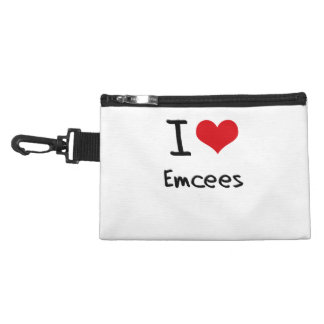 I love Emcees Accessory Bags