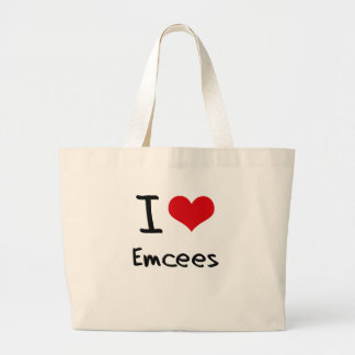 I love Emcees Canvas Bag