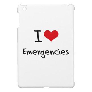 I love Emergencies Case For The iPad Mini
