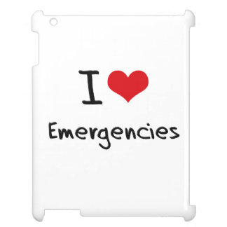 I love Emergencies iPad Cover