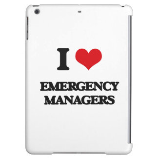 I love Emergency Managers Case For iPad Air