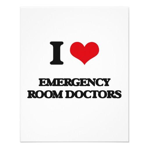 I love Emergency Room Doctors Full Color Flyer