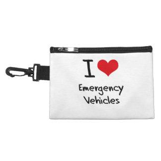 I love Emergency Vehicles Accessories Bag