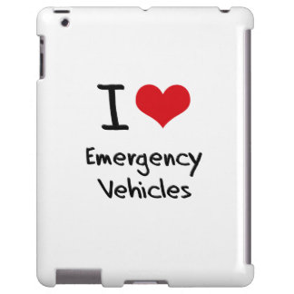 I love Emergency Vehicles