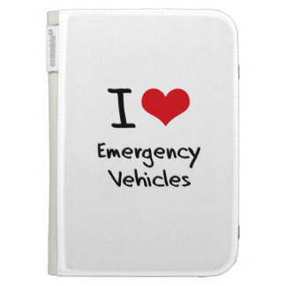I love Emergency Vehicles Cases For The Kindle
