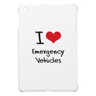 I love Emergency Vehicles iPad Mini Cases