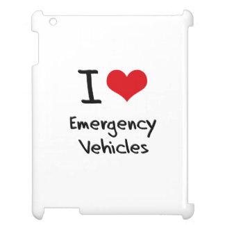 I love Emergency Vehicles iPad Covers