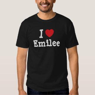 I love Emilee heart T-Shirt