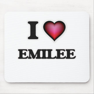 I Love Emilee Mouse Pad