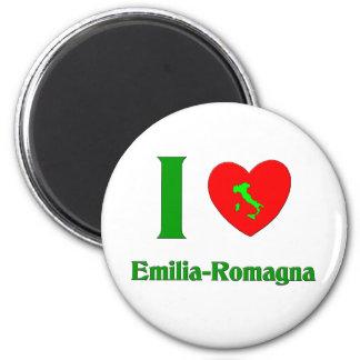 I Love Emilia-Romagna Italy Refrigerator Magnet