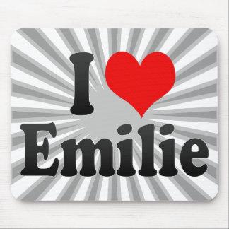 I love Emilie Mouse Pad
