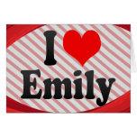 I love Emily Card