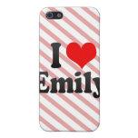 I love Emily iPhone 5 Case