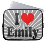 I love Emily Laptop Sleeves