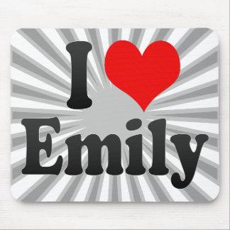 I love Emily Mouse Pad