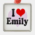 I love Emily Ornaments