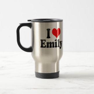 I love Emily Stainless Steel Travel Mug