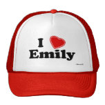 I Love Emily Trucker Hat