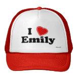 I Love Emily Trucker Hats