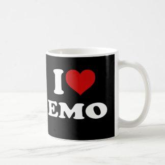 I Love Emo Coffee Mug