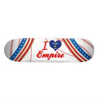 I Love Empire Wisconsin Skateboard Deck