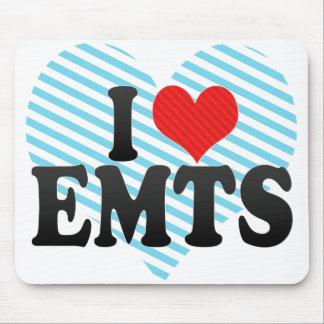 I Love EMTS Mouse Pad