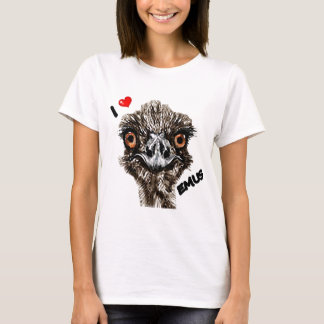 I LOVE EMUS T-Shirt
