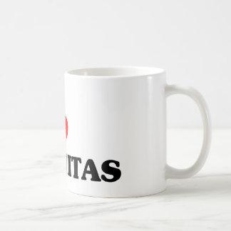 I love Encinitas Classic White Coffee Mug