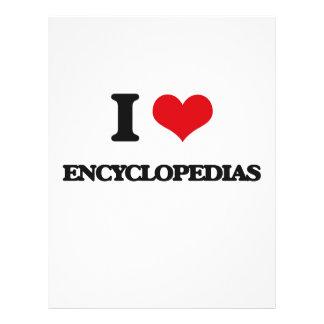 I love ENCYCLOPEDIAS Flyer
