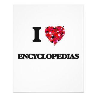 I love ENCYCLOPEDIAS 11.5 Cm X 14 Cm Flyer