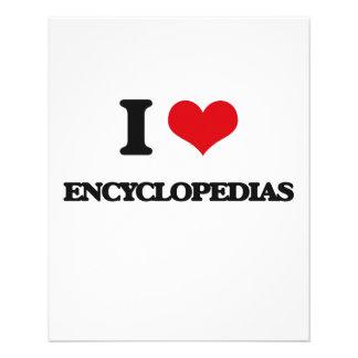 I love ENCYCLOPEDIAS Full Color Flyer