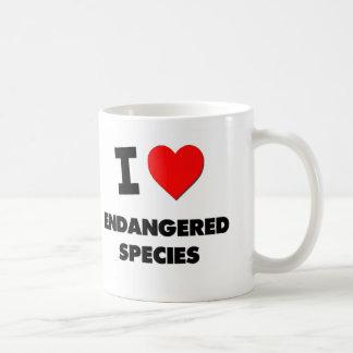 I love Endangered Species Coffee Mugs