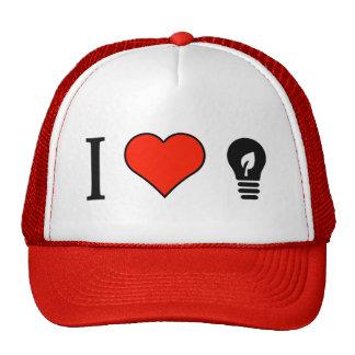 I Love Energy Saving Lightbulbs Cap