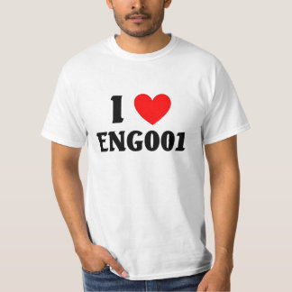 I love Eng001 Tee Shirt