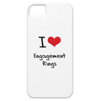 I love Engagement Rings iPhone 5 Case