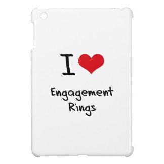 I love Engagement Rings iPad Mini Covers