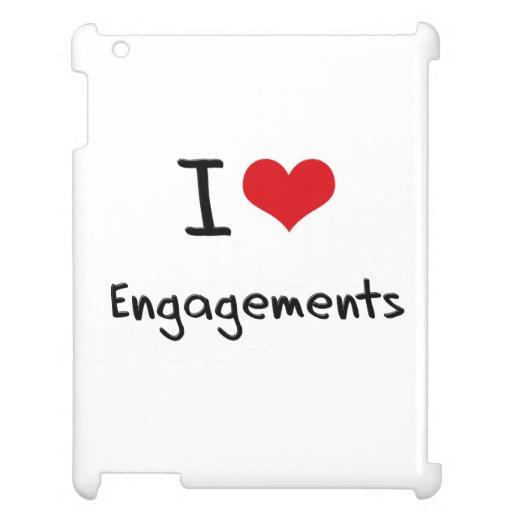 I love Engagements iPad Covers