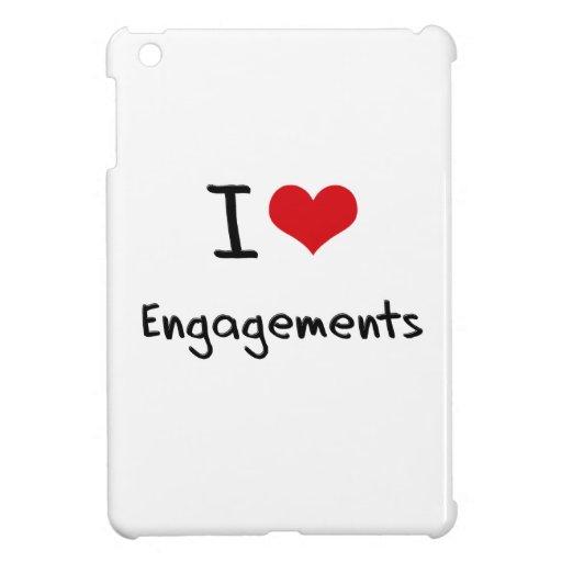 I love Engagements iPad Mini Cases