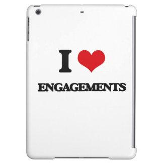 I love ENGAGEMENTS iPad Air Case
