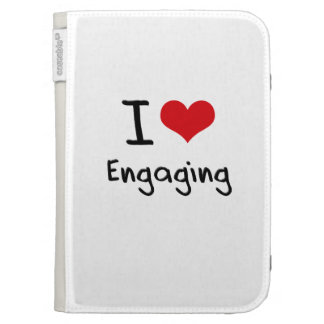 I love Engaging Kindle 3 Cases