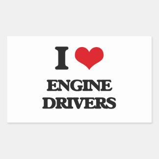 I love Engine Drivers Sticker