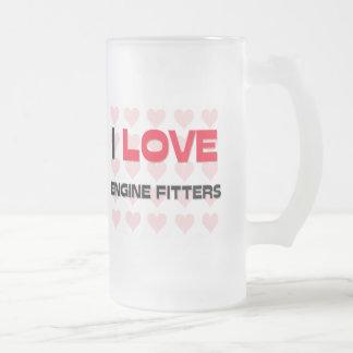 I LOVE ENGINE FITTERS COFFEE MUGS