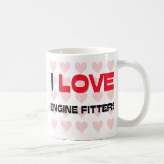 I LOVE ENGINE FITTERS MUG