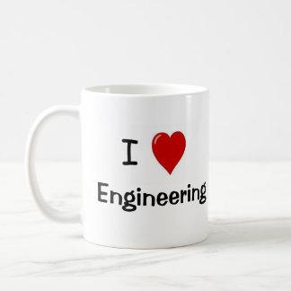 I Love Engineering - Engineering Loves Me Coffee Mug