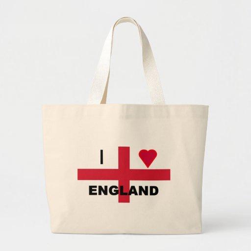 I Love England Bags